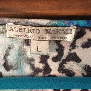 Alberto Makali Tops - Alberto Makali watercolor Print Tunic